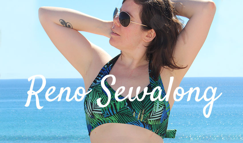 Reno Swimsuit Bikini Sewalong by Helen's Closet