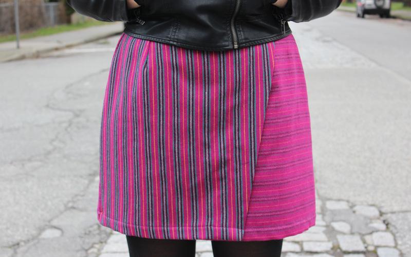 Pattern Test Sew Diy Nita Wrap Skirt Helens Closet