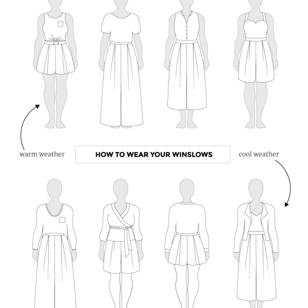 How to Wear your Winslow Culottes
