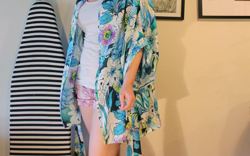 Seamwork Almada Robe by Helen's Closet