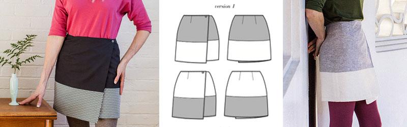 Osaka Skirt by Seamwork Magazine