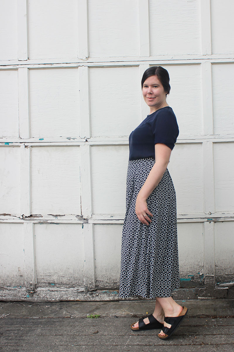Winslow Culottes View C by Helen's Closet