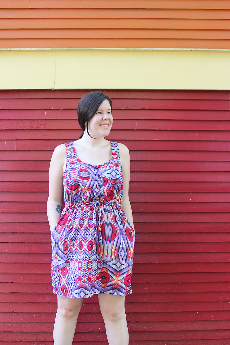 True Bias Southport Dress by Helen's Closet