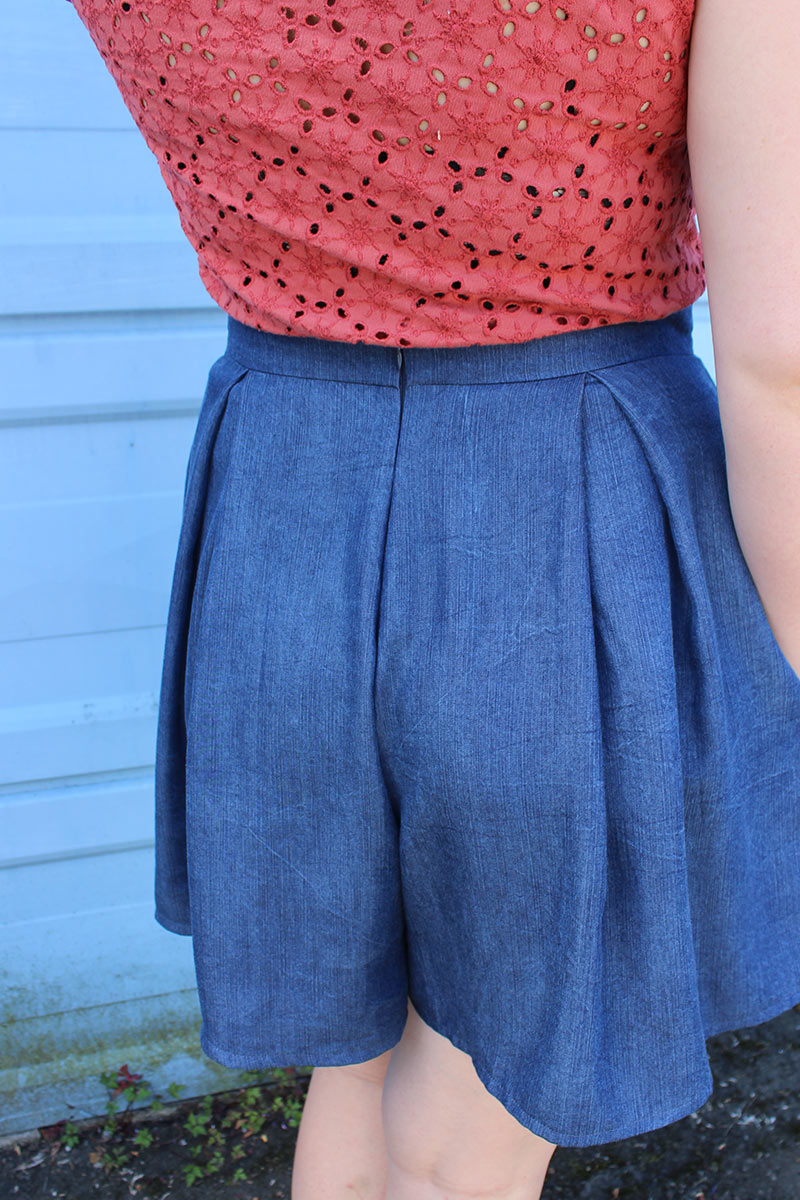 Tencel Denim Winslow Culottes by Helen's Closet