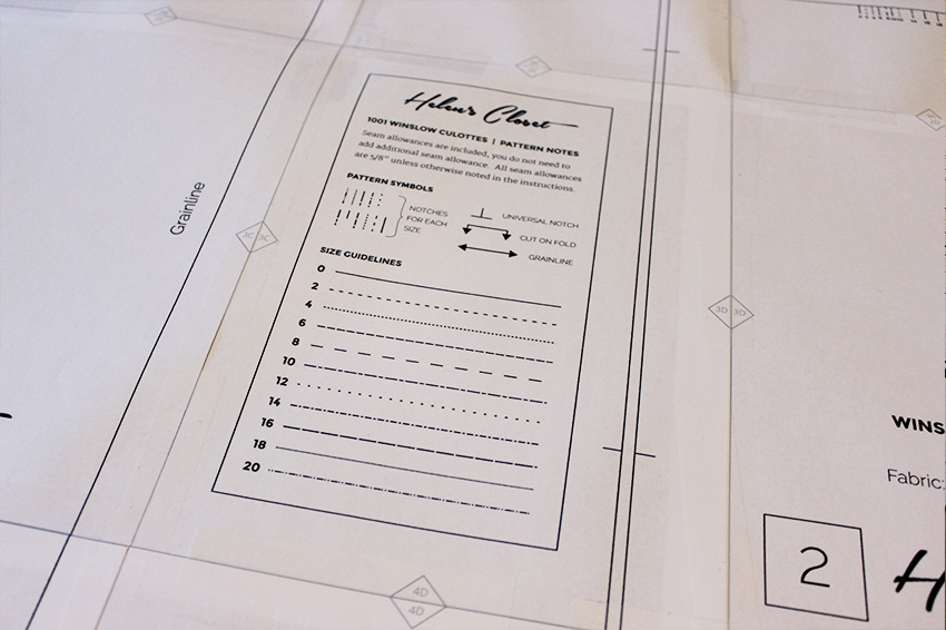 How to Assemble a PDF Pattern