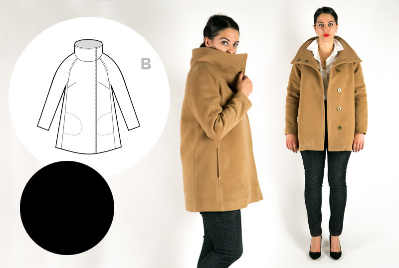 Sewing Plans Clare Coat