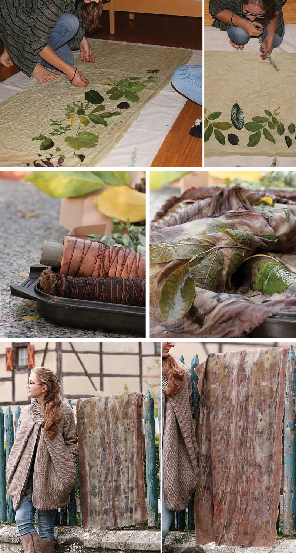 Machwerke Ecoprints Dyeing