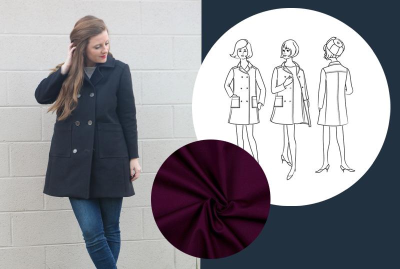 Sewing Plans Ellsworth Coat