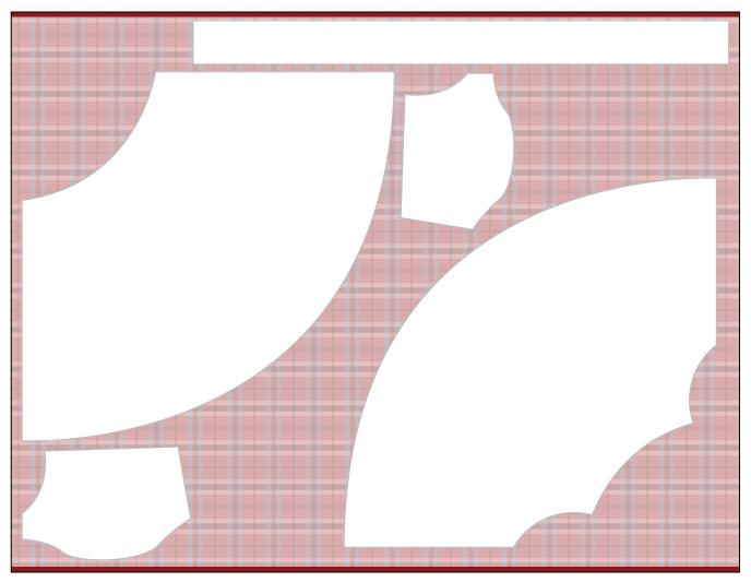 Hollyburn Skirt Cutting Layout