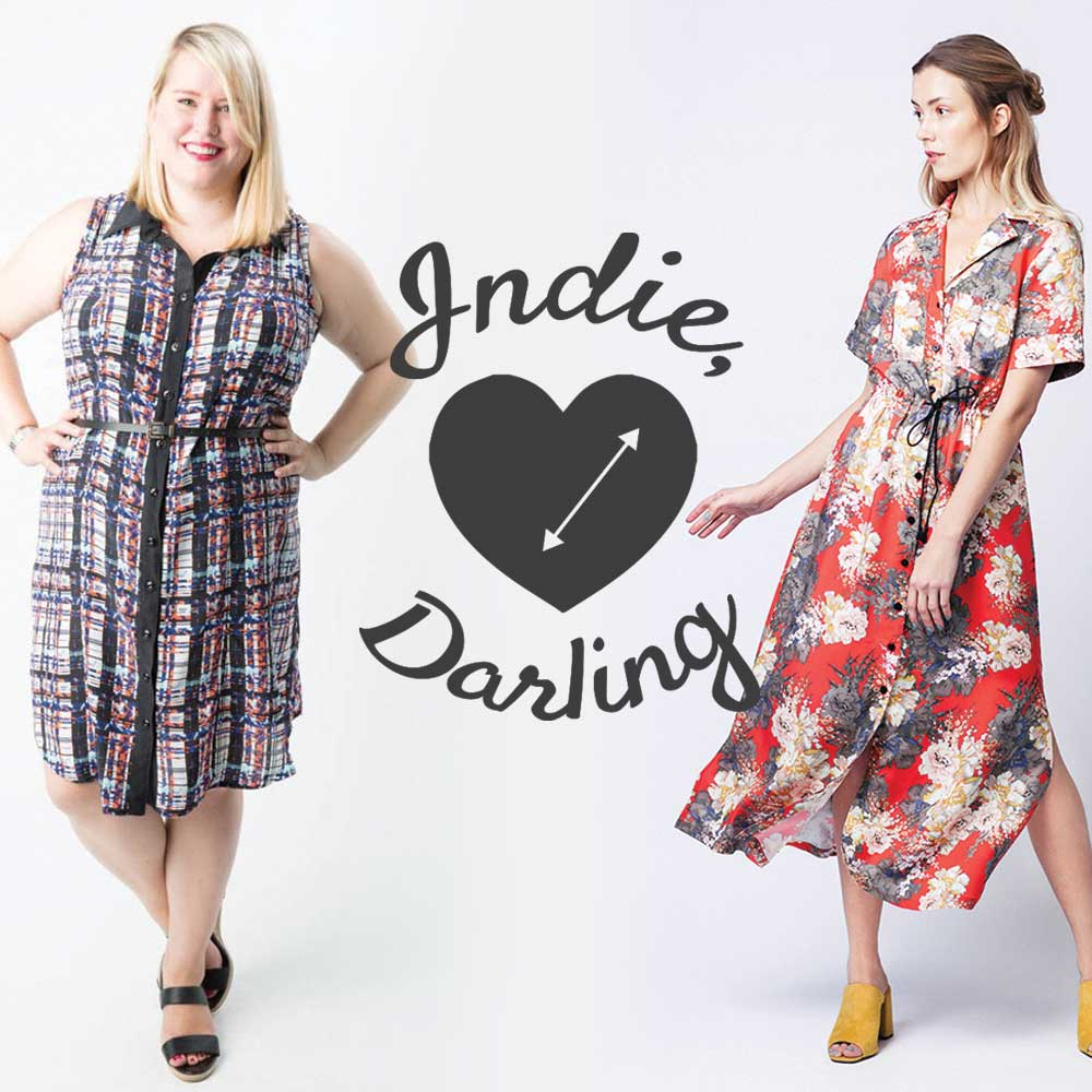 Indie, Darling : Best Shirtdress Patterns – Helen\'s Closet