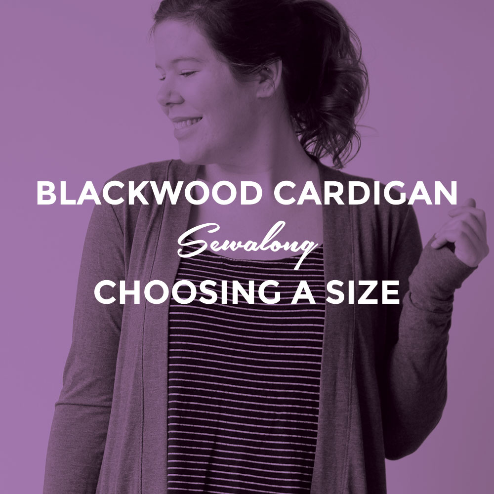 Blackwood Cardigan Sewalong