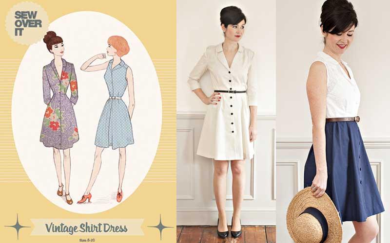 Best Indie Shirtdress Patterns