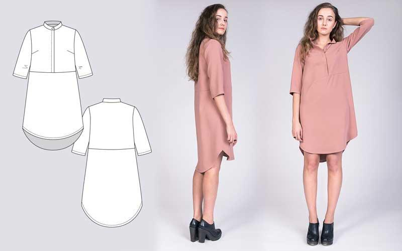 Indie, Darling : Best Shirtdress Patterns – Helen\'s Closet