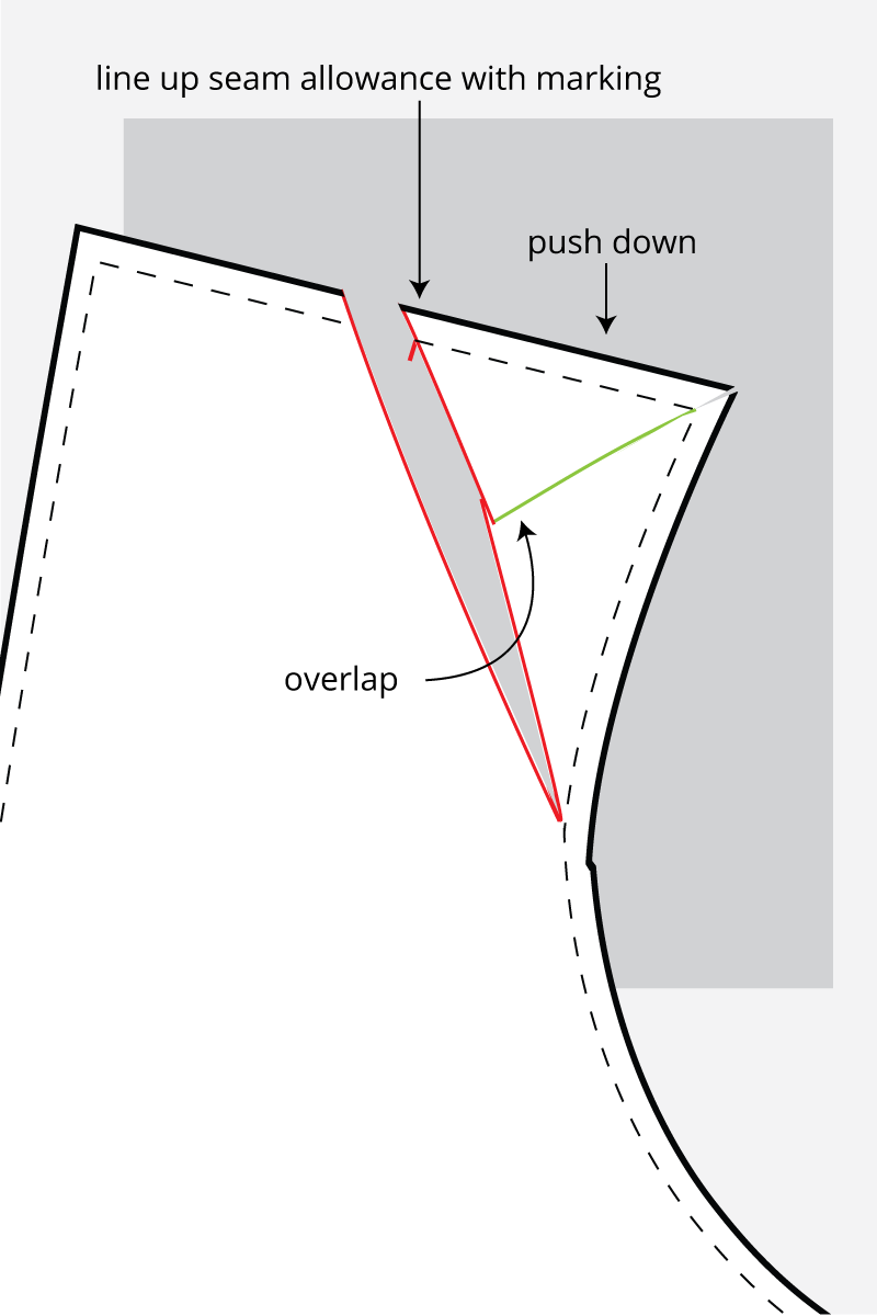 How to do a broad shoulder adjustment