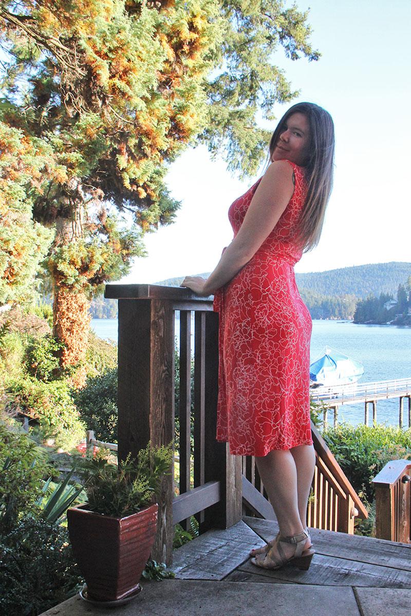 Sleeveless Appleton Wrap Dress