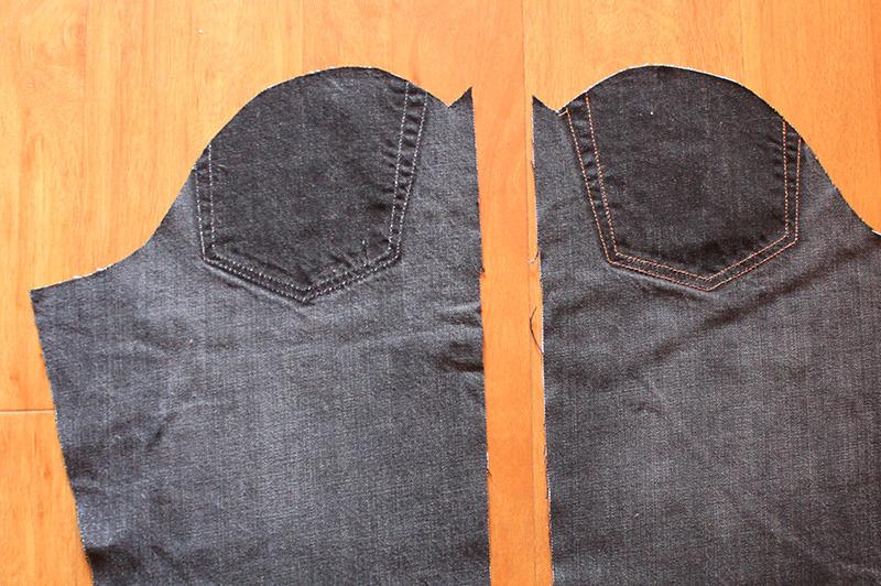 Upcycled Jeans Hampton Jacket