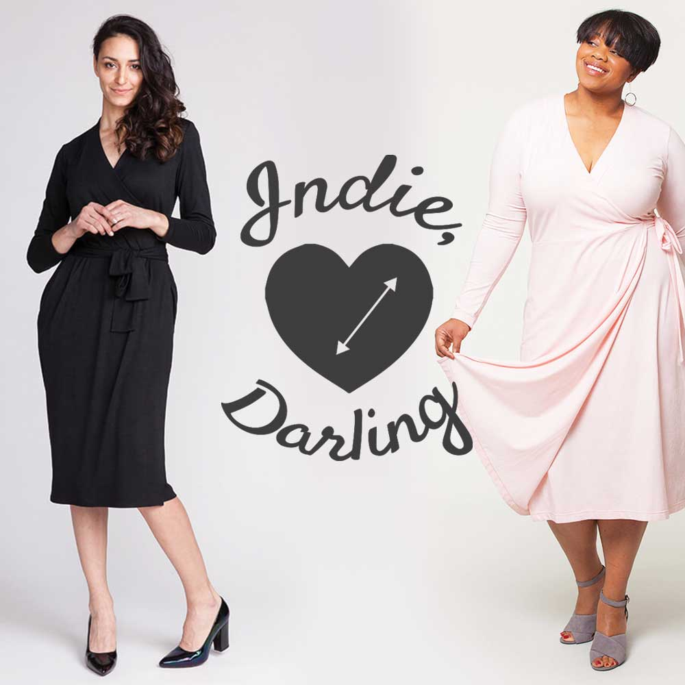 Indie, Darling: Best Wrap Dress Patterns – Helen\'s Closet