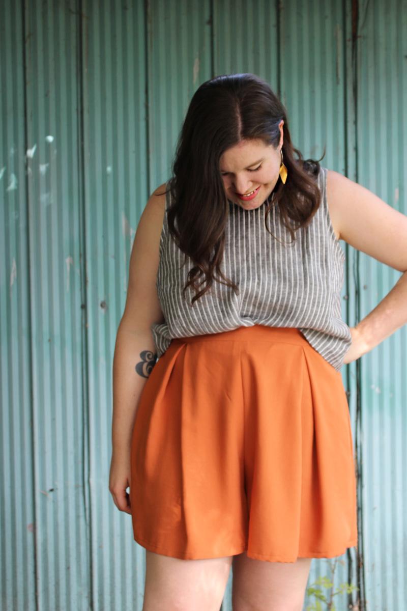 Winslow Culottes Orange Shorts