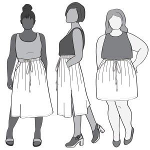 Donovan Skirt Illustration