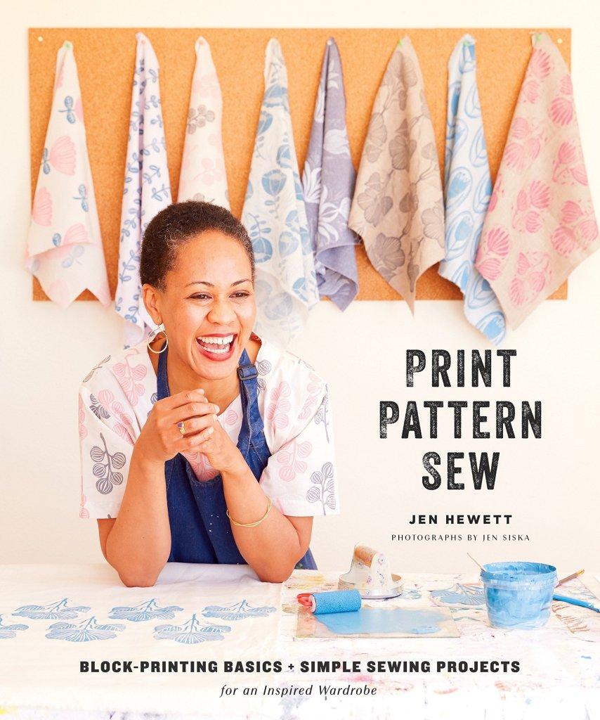 Jen Hewett Print Pattern Sew Block Printing Book