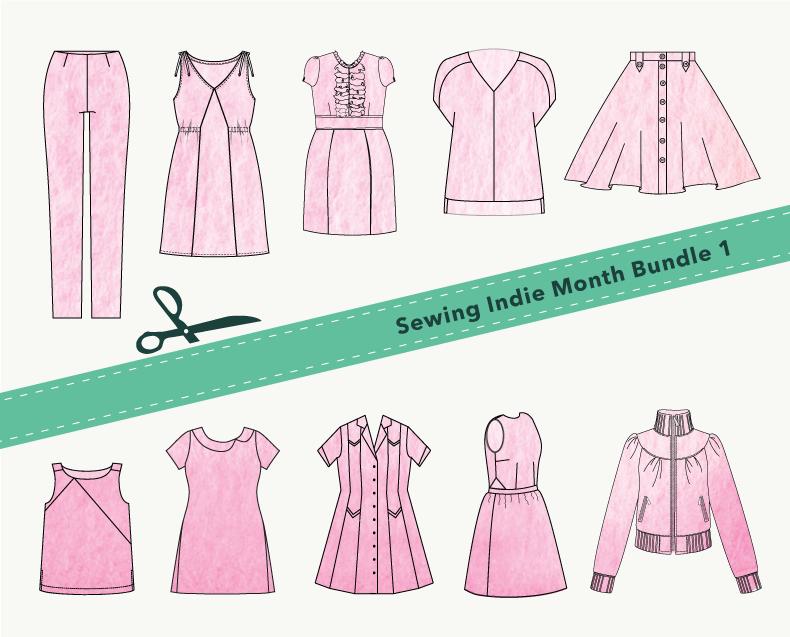 Sewing Indie Month Bundle 1