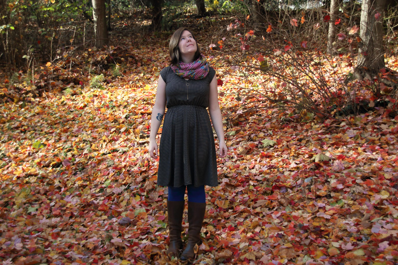 Helen's Closet Sallie Dress and Hollyburn Skirt by Closet Case Files and Sewaholic Patterns