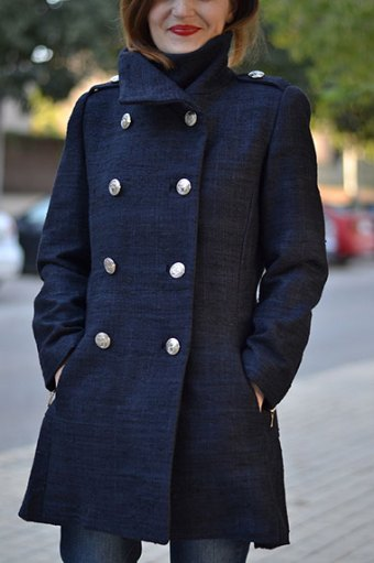 Quart Coat by Pauline Alice