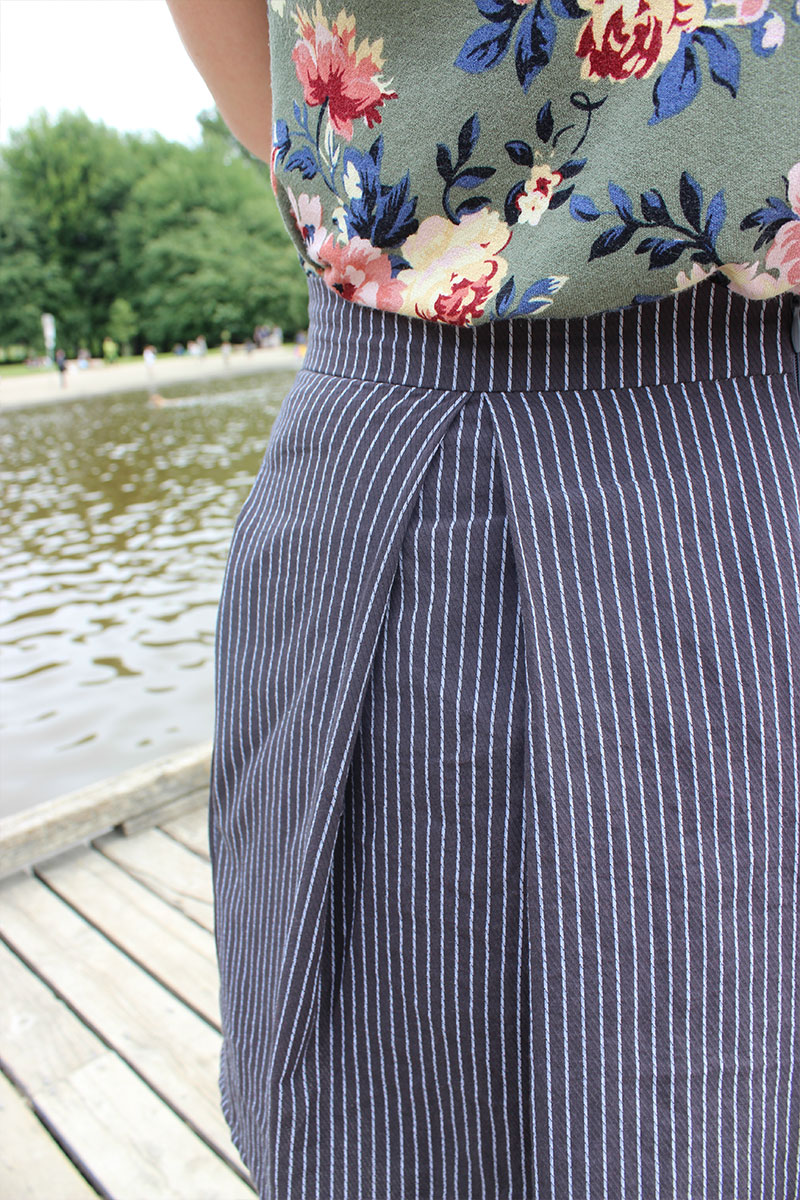 Winslow Culottes View A by Helen's Closet