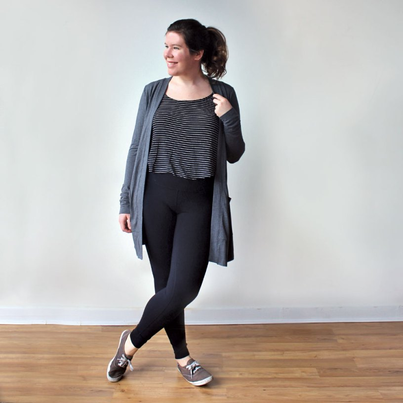 Blackwood Cardigan PDF Sewing Pattern