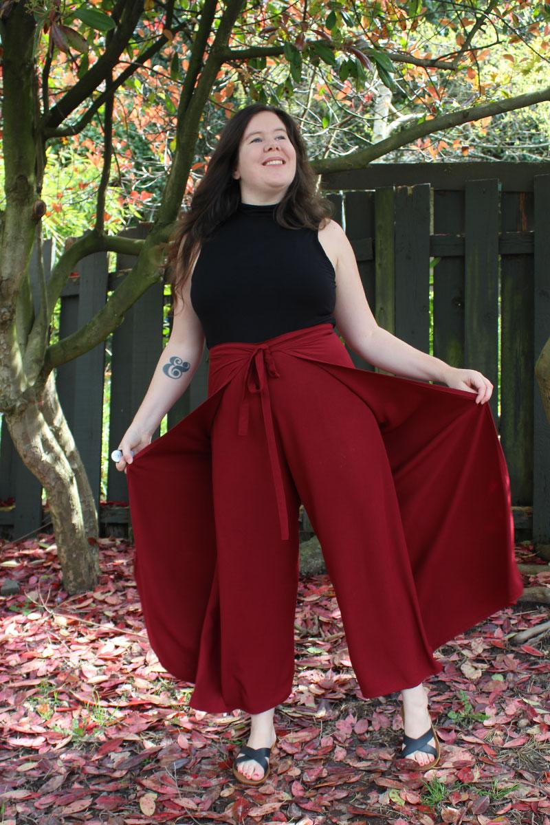 Winslow Culottes Wrap Pants