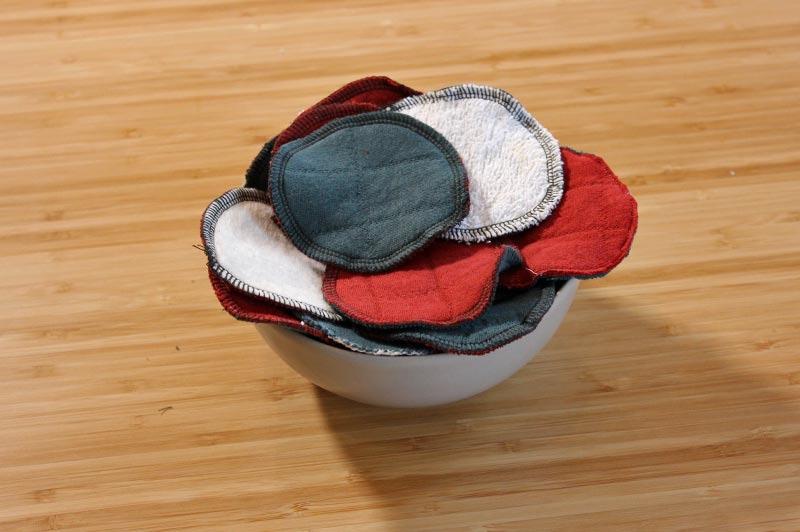 DIY Make-up Removal Pads