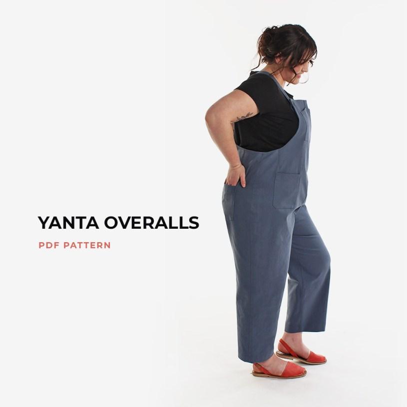 Yanta Overalls PDF Pattern