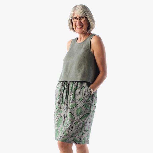 Donovan Skirt PDF Pattern by Helen's Closet