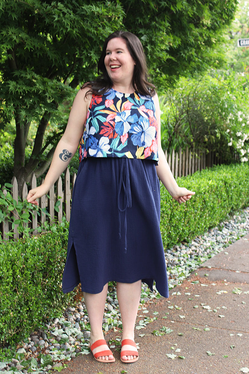 Ashton Top and Donovan Skirt