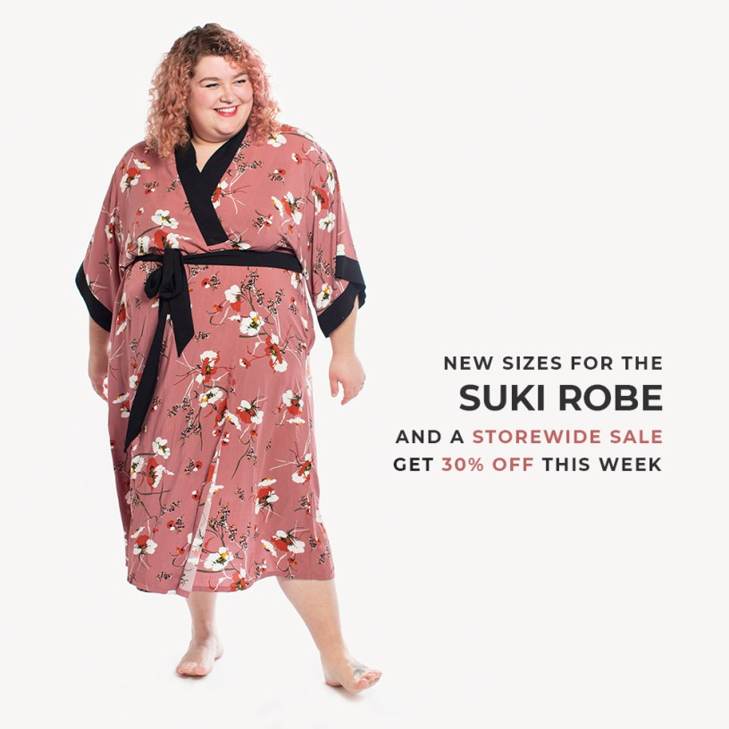 Suki Robe by Helen's Closet Patterns