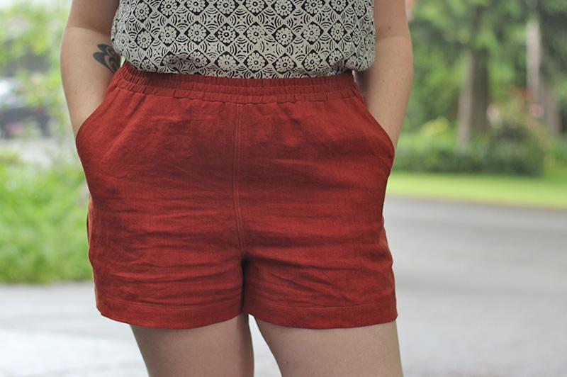 Arden Pants Pattern Shorts Hack Helens Closet Patterns