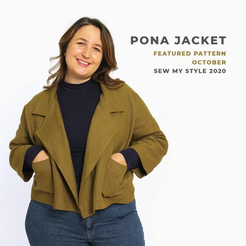 Pona Jacket Helen's Closet