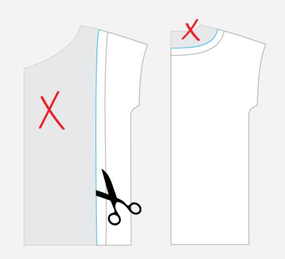 Drafting a jacket lining