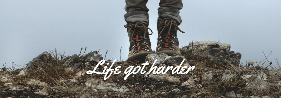 Life Got Harder by Helen Sherwin
