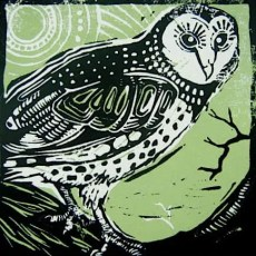 Hoot! (green) $75 edition of 12