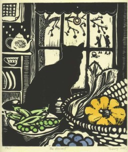 The Harvest linocut $90 edition of 30