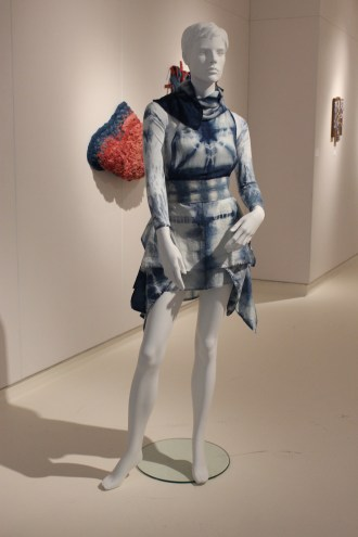 'Untitled' Betty Hensellek - Indigo dyed