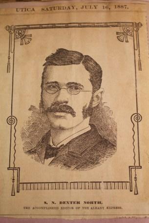 Dexter North Portrait, Kroch Library