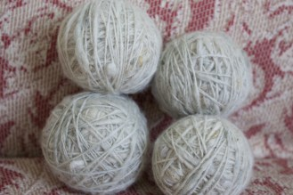 Second round of wool, June 2016