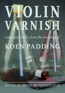 violin varnish book by helen