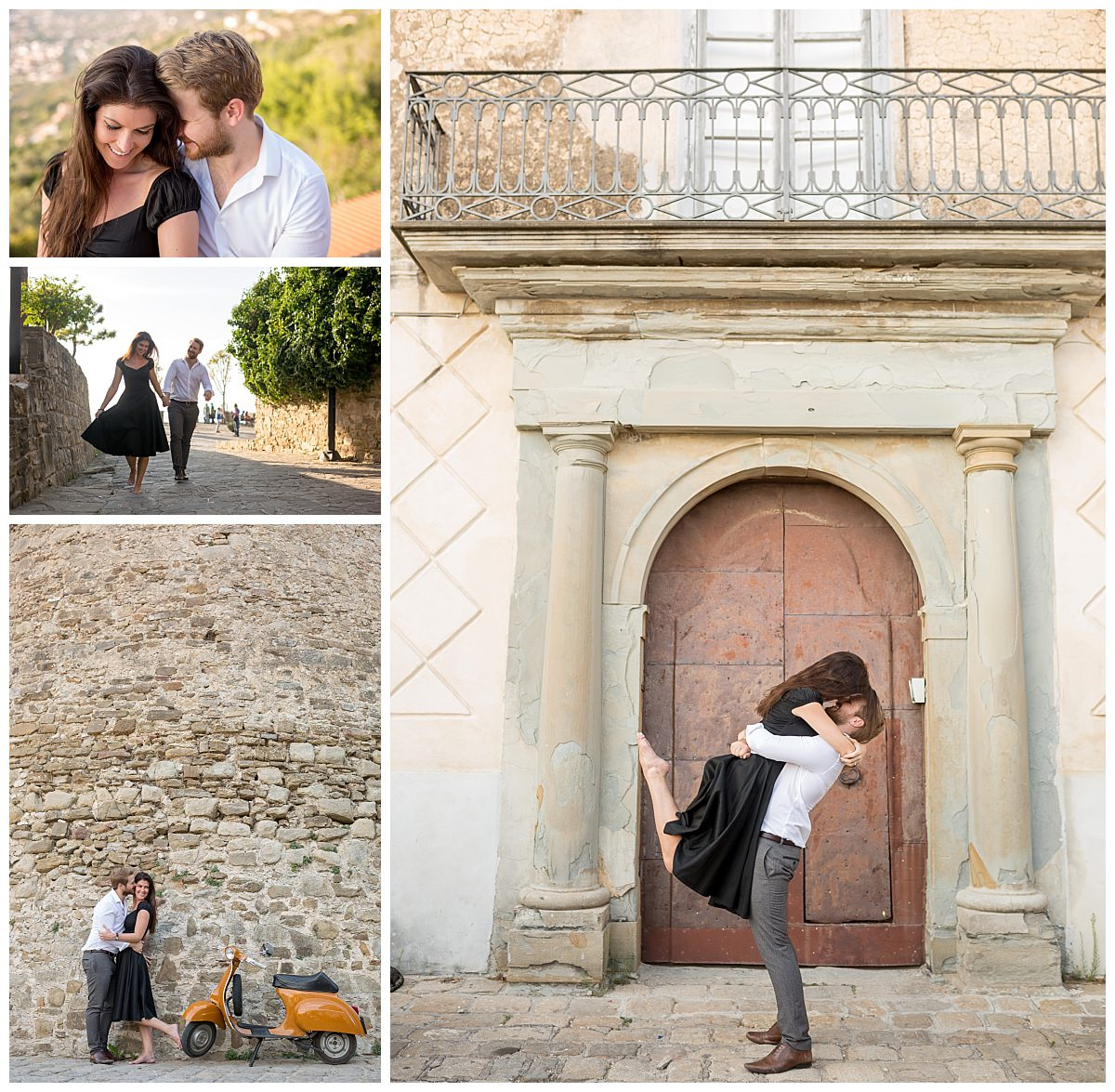 Engagement shoot at Santa Maria Di Castellabate