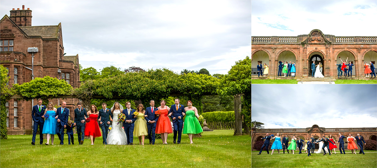 Birdal Party Wedding Photo ideas at Thornton Manor