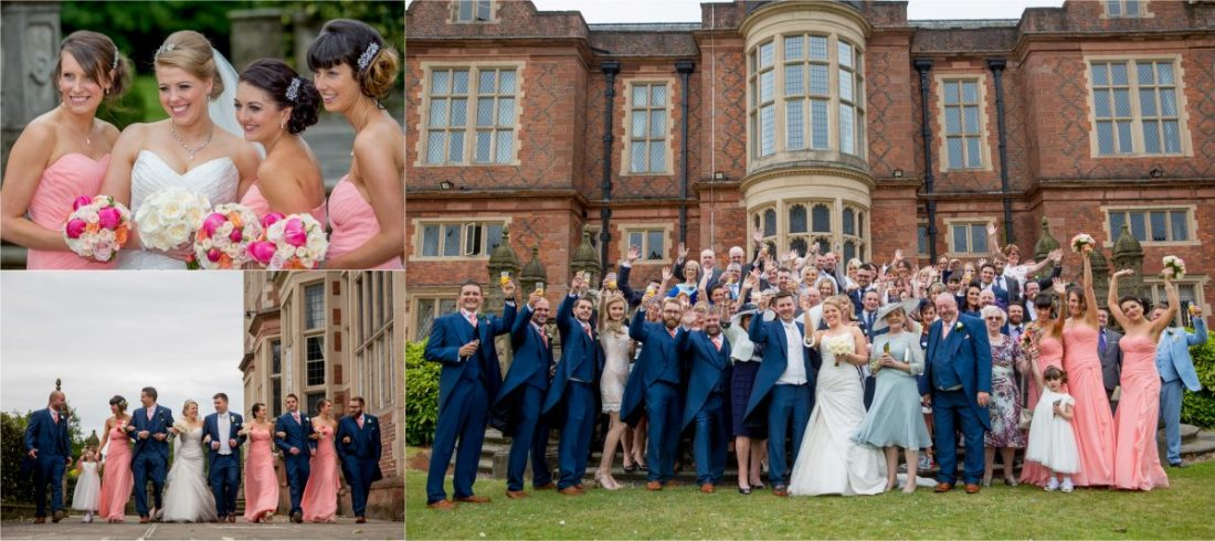 Crewe Hall Wedding Photography Fun Photographer