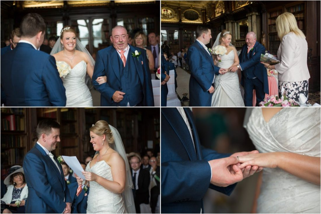 Crewe Hall Wedding Photography - Wedding Ceremonies at Crewe Hall