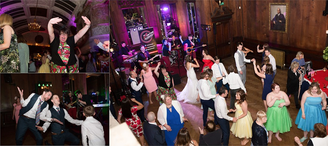 Thornton Manor Dancefloor. The Funtime Frankies